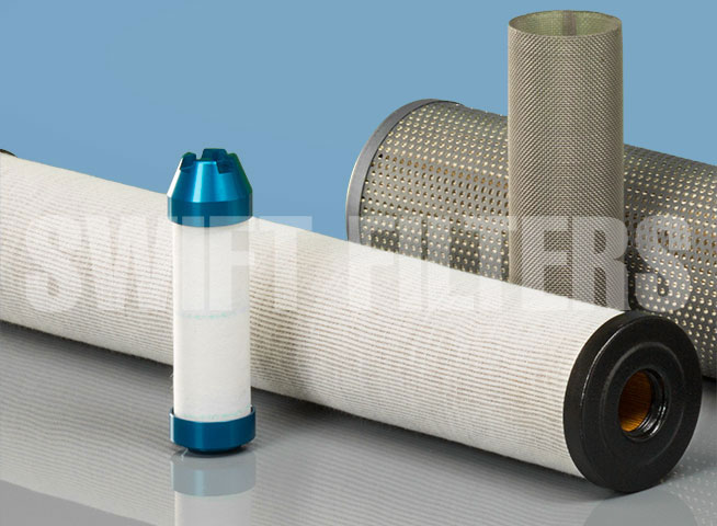 water removal (coalescing) filter elements