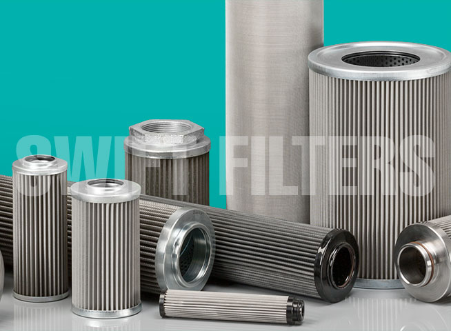 epoxy stainless steel filter elements