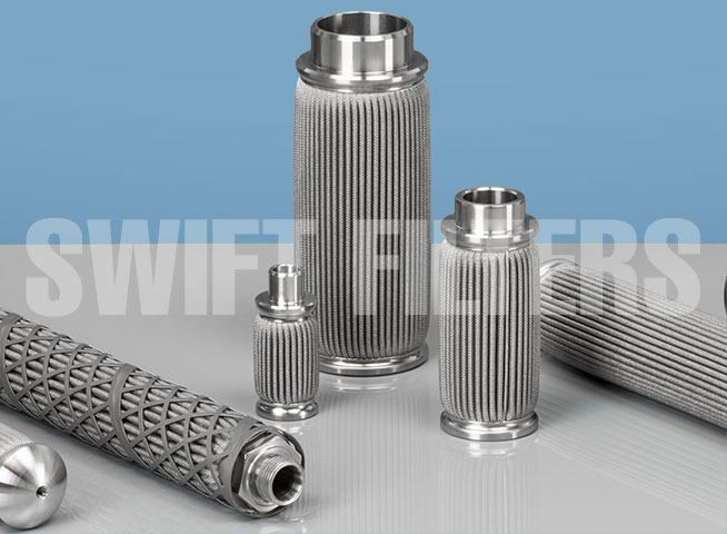 stainless steel metal felt filter elements